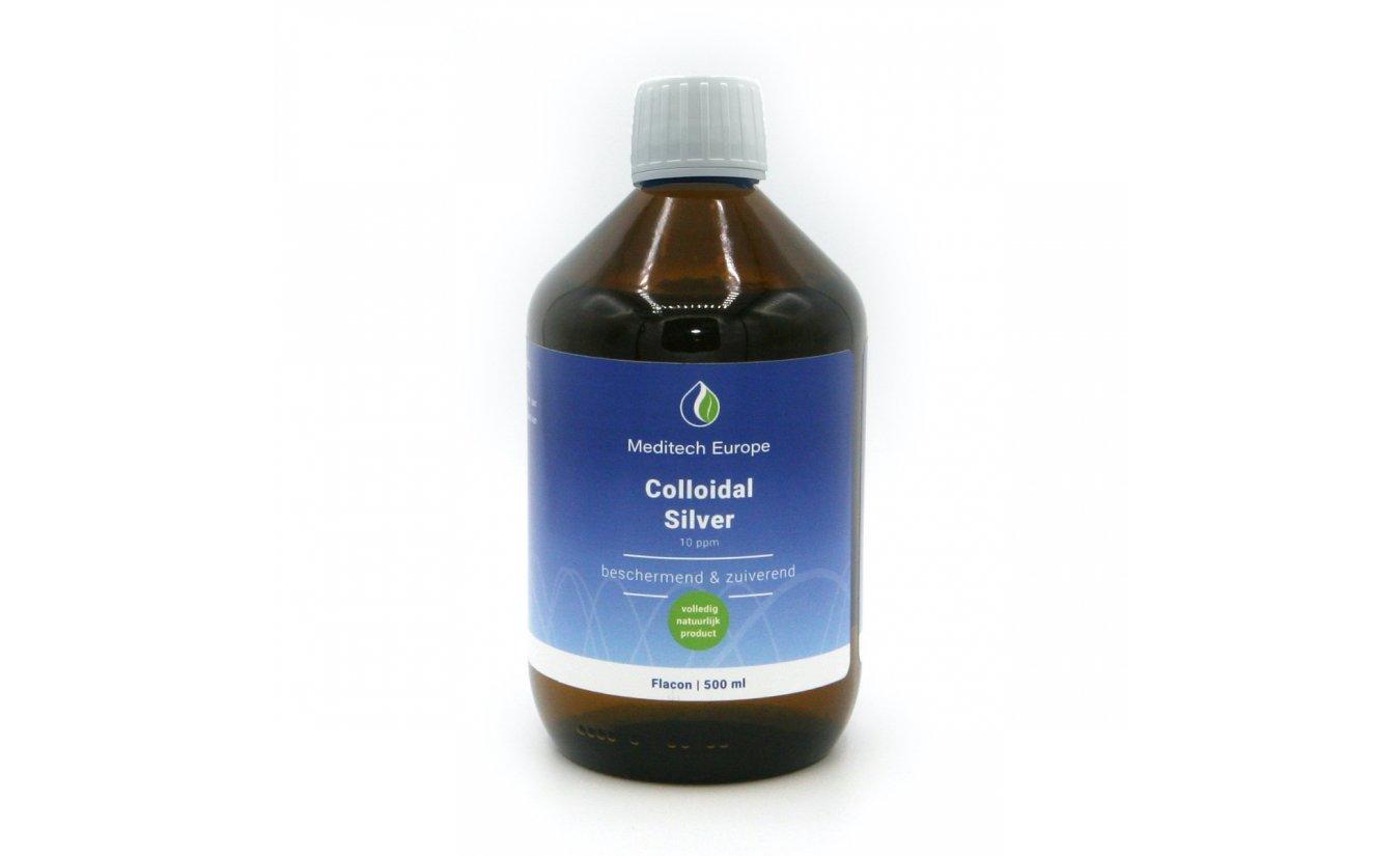 Colloïdal Silver 10ppm, 500 ml