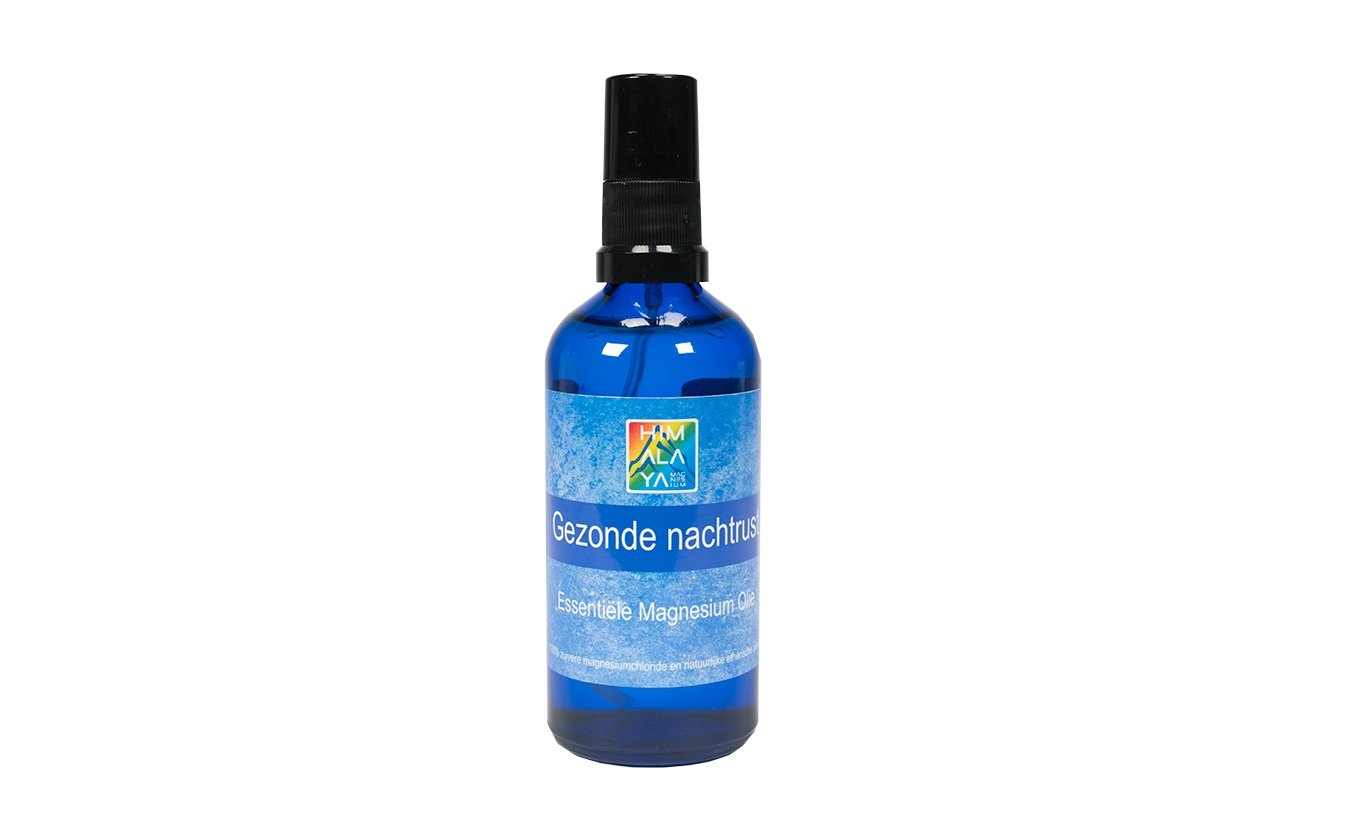 Essential magnesium oil for a healthy night's rest