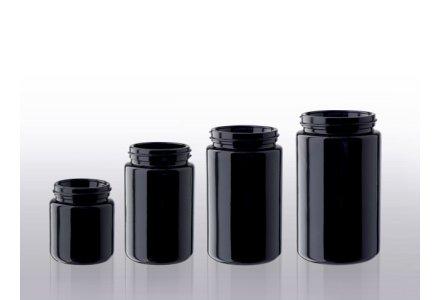 Miron wide neck jars, wide