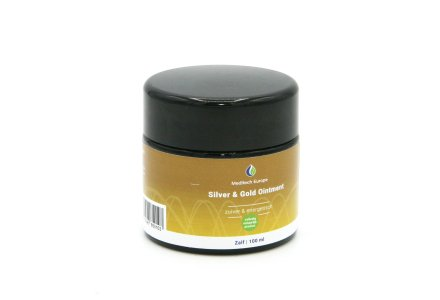 Colloidal Silver Ointment with gold  100 ml