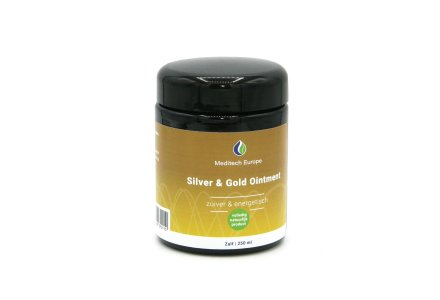 Colloidal Silver Ointment with gold 250 ml